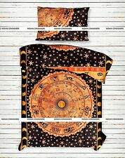 Zodiac Astrology Duvet Cover Single Doona Art With Pillow Case Blanket Quilt Set