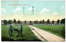 Barracks Mare Island California Vintage Postcard San Francisco 1911