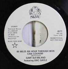 Jazz Nm! 45 Gary Mcfarland Ft. Eric Gayle - 80 Miles An Hour Through Beer-Can Co