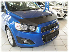 CAR HOOD BRA fit Chevrolet Aveo Sonic Holden Barina T300 2011- BRA DE CAPOT