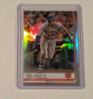 Jeff McNeil 2019 Topps Chrome Refractor RC card #152 New York Mets Rookie Card