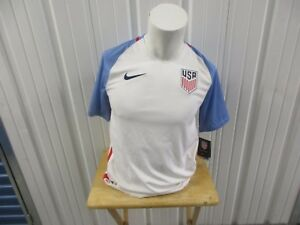 NIKE USA AUTHENTIC NATIONAL MEN'S TEAM SOCCER DRI-FIT SMALL JERSEY 2016 KIT NWT