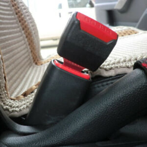 2x Car Seat Belt Buckle Extension Extender Clip Alarm Stopper Adapter Accessory