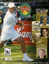 2009  Tennis Hall of Fame induction program Monica Seles