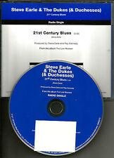 STEVE EARLE 21st Century Boy 2013 USA PROMO Radio DJ CD single MINT