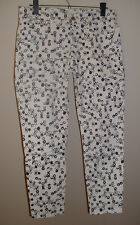 NWT GAP LEGGING JEAN LOW RISE DITSY PRINT STRETCH JEANS NEW SIZE 33 TALL