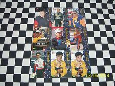 Nascar, Collector Trading Cards 5Sport (9) Cards