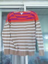 Size SPP Old Navy Women's Striped Long Sleeve Top Thin Texture 100% Cotton