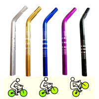 BMX Haro Seat Post Gt 25.4mm Bicycle Lay Back Alloy Old School Choice of Colors