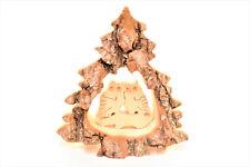 Weihnachtsbaum Motiv Eule Rindenbild Weihnachten Deko Holzbild Krippe