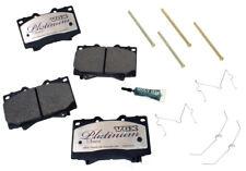 Disc Brake Pad Set-Ceramic Pad Kit with Hardware Front Autopartsource VP812K