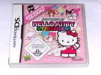 Spiel: HAPPY PART MIT HELLO KITTY FREUNDEN für Nintendo DS + Lite + XL + 3DS 2DS