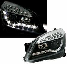 Scheinwerfer LED Tagfahrlicht Optik für Opel ASTRA H 2004-2010 Schwarz AU LPOP52