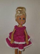Handmade Chelse/Kelly mattel doll clothes - Magenta