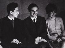 Alain Resnais François Truffaut par Rosine Nusimovici Original Vintage 1970