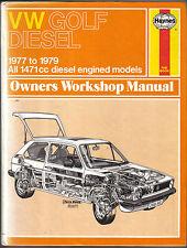 VW Golf Diesel 1977-1979 1471cc Haynes Owners Workshop Manual