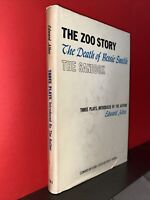 RARE EDWARD ALBEE - ZOO STORY/BESSIE SMITH/SANDBOX Hardcover dust jacket 1960