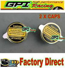 2pcs 1.3 Bar Radiator Cap for all Japan cars HONDA/ACURA/MAZDA/NISSAN/TOYOTA