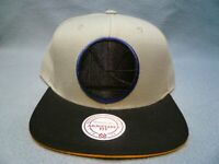 Mitchell & Ness Golden State Warriors XL Grayout BRAND NEW Snapback cap hat GS