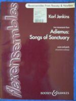 ADIEMUS & SONGS SANCTUARY -JENKINS - FLEXENSEMBLES - score and parts - ensembles