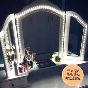 240 LED Hollywood Mirror Bulbs Lights Strip Dimmer Dressing Vanity Makeup Table