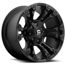 """Fuel D560 Vapor 18x9 5x4.5""""/5x5"""" -12mm Matte Black Wheel Rim 18"""" Inch"""