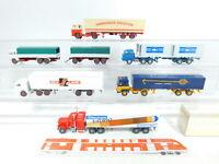 BX404-0,5# 6x Wiking 1:87/H0 LKW: 527 Peterbilt + Scania ASG etc sehr gut+1x OVP