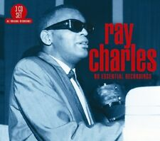 RAY CHARLES - 60 ESSENTIAL RECORDINGS  3 CD NEUF