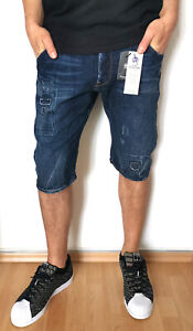 G-Star Arc 3D Tapered 1/2 Jeans Short W31 New DK Aged Hadron Denim Wash -New-