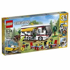 NEW LEGO Creator Vacation Getaways 31052 Camper Trailer Yacht Summer Home House