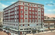 Sioux City Iowa~Art Deco Le? Voque~F&C Shoes Coast to Coast~1940s Hotel Martin