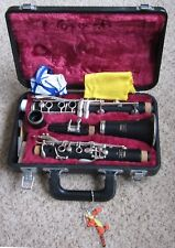 Yamaha 26II Clarinet with 6C mouthpiece, in hard case, complete.