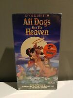 All Dogs Go to Heaven (VHS, 1994, Slipsleeve)