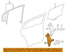 GM OEM Rear Door-Window Regulator 22738689