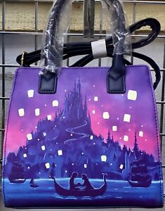 LOUNGEFLY DISNEY TANGLED CROSSBODY BAG NEW WITH TAGS NEW UK SELLER