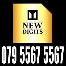 GOLD EASY MEMORABLE RARE VIP UK UNIQUE MOBILE PHONE NUMBER SIM CARD EXCLUSIVE