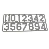 beehive plastic card number sign frame marking board beekeeping TEUS rf