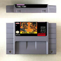 Final Fight 1 2 3 Guy Game 16 Bit Cartridge Console Nintendo SNES US Version Eng