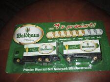 Camion poids lourd&1remorque-publicitaire-Bière Allemande-Collector-Neuf-20cm