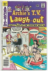 Archie's TV Laugh-Out #43 (Archie, 1976) – Sabrina the Teen-Age Witch – VG/FN