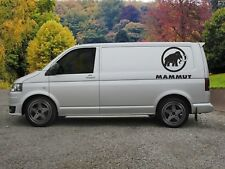 Huge Mammut Van Vinyl Sticker Decal x 2