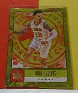 2018-19 Panini Court Kings - John Collins - Base Card #3 - Atlanta Hawks