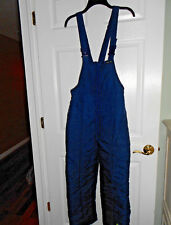 Youth Size 14 Casual Time Bib Snow Pants Navy Blue Size 14