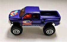 1999 Matchbox Purple Surfshop Chevrolet Silverado 4X4 - Nice Condition