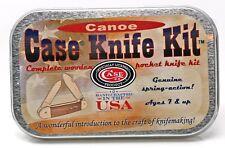 Case Canoe Wooden Knife Kit