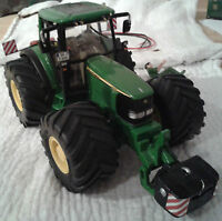 SIKU Farmer Traktor - John Deere 6920 - 1:32 - Umbau mit Breitreifen, Licht usw