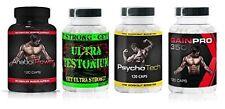 Testosteron Booster Kur Muskelaufbau Fatburner  Pre Workout 4 Dosen Sonderpreis
