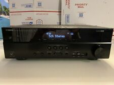 Yamaha RX-V375 Natural Sound 4K Ultra HD Bluetooth A/V Receiver TESTED & WORKING