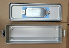 Case Medical Steritite Narrow Sterilization Container With Lid 185x6 X3 Sc03n