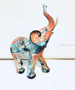 Graffiti Pattern Elephant Figurine High quality Art gift